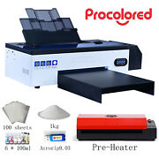 Procolored Dtf Flatbed Printer T-shirt Personal Diy For Home Business W/ Heater