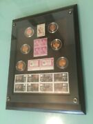 2009 Anniversary Abraham Lincoln Commemorative Coin And Stamp Set