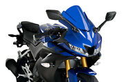 Puig Screen Z-racing Compatible For Yamaha Yzf-r125 2020 Blue