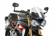 Puig Screen Naked Sport For Triumph Speed Triple 1050 2020 Transparent