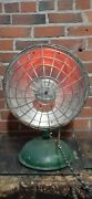 Vintage Lighting Electric Heater Sci-fi Rowell Ufo Works