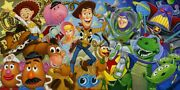 Tim Rogerson Cast Of Toys Gallery Wrapped Disney Fine Art