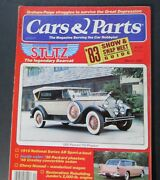 Cars And Parts Magazine March/1983...1930 Packard 733 Phaeton...1955 Bel Air Nomad