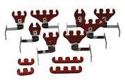 Moroso 72176 Big Block Chevy Spark Plug Wire Loom Kit - Red - 7-9mm Wires