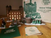 Department 56 Heritage Village Collection 1997 Tower Of London 58500 Set Of 5