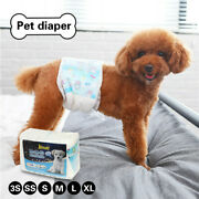 10pcs Female Dog Diapers Disposable Nappie Outdoor Nappy Physiological Underwear