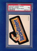 1974 Original Topps Wacky Packages Opc O Pee Chee 3rd Series Bustedfinger Psa 7
