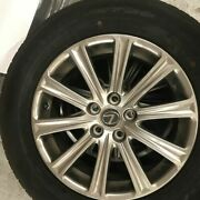 4 Oem 17 Inch Lexus Wheels And Dunlop Tires 225/65r17 Like New