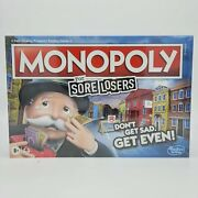 Monopoly For Sore Losers Dont Get Sad Get Even New Hasbro Board Game