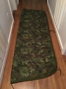Vintage Us Military Camouflage Poncho Blanket 78andrdquox60andrdquo Used