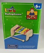 Create And Learn Xylophone Letter Stickers To Personalize Wooden Hardware Construc