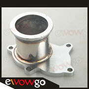 For T3/t4 5 Bolt To 2.5 63mm V-band Clamp Flange Exhaust Turbo Down Pipe