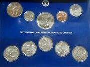 2017 Complete Pandd United States Mint Set Sealed In Original Government Packaging