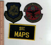 Dyess Afb 463 Taw And 1st Maps Mobile Aerial Port Sq Patches