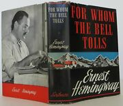 Ernest Hemingway / For Whom The Bell Tolls First Edition 1940 1406517