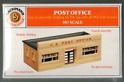Ho Plasticville Item No. 45144 Post Office New In Sealed Box