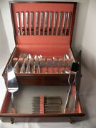 Towle Craftsmans Sterling Silver Flatware Set For 12 80 Pc. No Monograms
