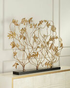 John-richard Collection Falling Leaves Fire Screen Horchow Neiman Marcus