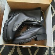 Hathorn Explorer Boots Style Nfpa- Lace-to-toe Smokejumper 10 Size 9d New