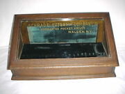 Schrade Cutlery Display Cabinet For Pocket And Sheath Knives Circa 1900-1920