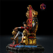 Stay Fount Hope Studio King Monkey D Luffy Gk Collector Resin Painted Statue