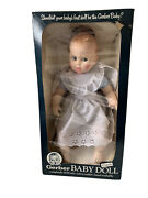Vintage Gerber 17 Baby Doll 1979 White Gingham 50th Anniversary Rolling Eyes