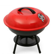 Pp 14 Portable Bbq Grilling Charcoal Barbecue Outdoor Cooking Camping Tool New