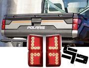 2018-2021 Polaris Ranger 1000 Xp Crew Left And Right Tail Lights Pair 2413766