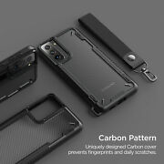 For Galaxy S21 Plus Case Vrs®[crystal Mixx Pro]carbon Pattern Clear Cover