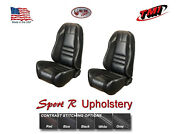 Sport R Front And Rear Seat Upholstery And Foam 1999-2004 Mustang Convertible