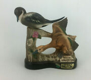 Jim Beam Whiskey Ducks Unlimited 1985 Pintail Duck Pair Decanter Empty