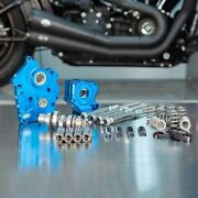 Sands Chain Drive 540c Cam Chest Kit Chrome Tubes Harley Oil Cooled M8 17-up