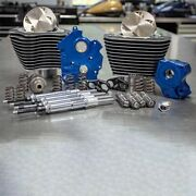 Sands M8 Power Package 124 Oil Cooled Chain Drive Highlighted Fins Chrome Tubes