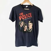 1979 The Police Vintage Tour Band Shirt 70s 1970s Sting