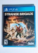 Strange Brigade Ps4 Playstation 4 Video Game Rebellion Sold Out Inc New Sealed