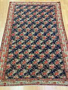 4and0391 X 6and039 Antique Kurdish Oriental Rug - 1900s - Full Pile - Hand Made 100 Wool