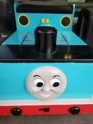 Learning Curve Rare Thomas The Train Tank Engine Large Wooden Bench Toy Box