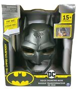 New Batman Dc Voice Changing Mask 15+ Phrases The Caped Crusader Creature Chaos