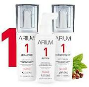 Arium System2 Hair Growth Trio For All Hair Types Without Chemical Processes 3pz