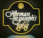 1980 Coors Herman Josephand039s Beer For Adolph Herman Joseph Coors Lighted Sign
