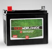 Sealed Battery For Cubcadet Rzt-42 Riding Lawn Mower Garden Tractor 1yr Warranty