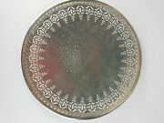 Footed Cake Plate Apollo E.p.n.s. 4336 Made In The Usa By Bernard Rice's Sons