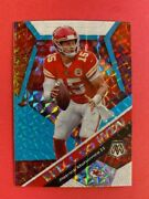 Patrick Mahomes 2020 Mosaic Will To Win 🌀blue Fluorescent 15/15 1 Of 1 Jer15