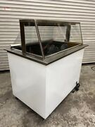 Ice Cream Dipping Cabinet Display Chest Freezer Nelson Ritas Bd6-dip-rb 5219 Nsf