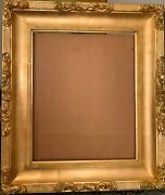 19 Century Italian Style Hand Made Giltwood And Gesso Frame