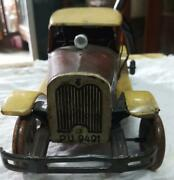 Antique Vintage Rare Old Collectible Antique Tin Toy Car From Tippco Germany