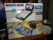 Electronic Pinball [lot Of 2] Space Adventure/franklin 3-d Glasses New Free Ship