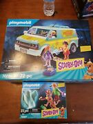 Playmobil 70286 Scooby-doo Mystery Machine And Playmobil 70287