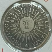 1815 Argentina 2 Reales - Scarce Silver