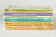 Lot Of 10 Encyclopedia Brown Series Set Of Paperback Chapter Books For Ages 8-12